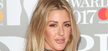 Ellie Goulding 'sweats like crazy' during her workouts but rarely showers after