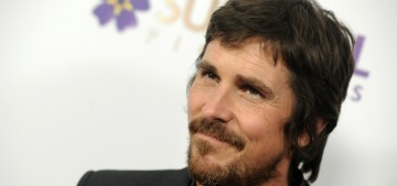 Christian Bale: We're watching Trump read a 'Dictatorship for Dummies book'