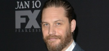 Tom Hardy possibly chased down & captured a moped thief in London