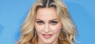 Who should play the young Madonna in the 'Blonde Ambition' bio-pic?