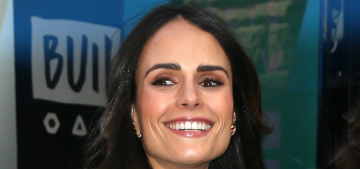 Jordana Brewster wishes she never swore in front of her son