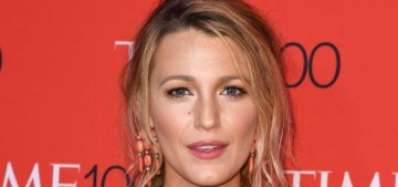 Blake Lively wore Marchesa to the Time 100 event: unflattering or blah?