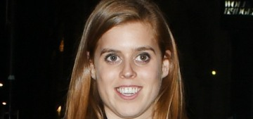 Princess Beatrice's latest cause seems to be vaguely about 'entrepreneurship'