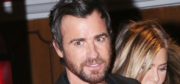 Justin Theroux isn't intimidated by his wife's success: 'We're not in competition'