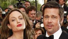 Brad & Angelina fought their way through Cannes & only In Touch saw it