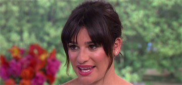 Lea Michele: 'I've never eaten fast food. I do not drink soda. I don't eat candy'