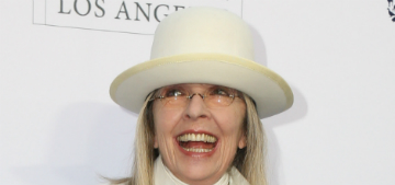 Diane Keaton on putting on make-up as an older lady: 'the dimmer is your friend'