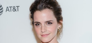 Emma Watson in Burberry at 'The Circle' premiere: basic or beautiful?