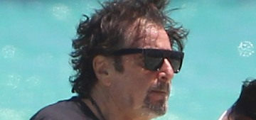 """""""Al Pacino, 77, frolicked on the beach with his 38-year-old girlfriend"""" links"""