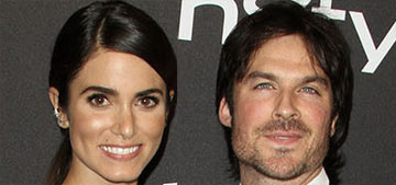 Ian Somerhalder & Nikki Reed gush over each other on 2nd anniversary