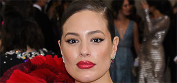 Ashley Graham in H&M at the Met Gala: flamenco fug or on theme?