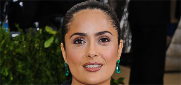 Salma Hayek in Balenciaga at the Met Gala: bizarre or interesting?