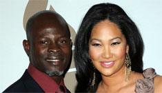 Kimora Lee Simmons & Djimon Hounsou welcome a son