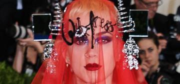 Katy Perry in John Galliano/Margiela at the Met Gala: amazing & on-theme?