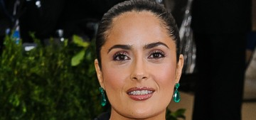 Salma Hayek: 'Every woman has a maternal instinct' & needs to apply that instinct