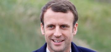 Emmanuel & Brigitte Macron's 'love story' is creepy as hell, actually