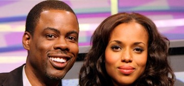 Page Six: Chris Rock & Kerry Washington had an affair circa 2007