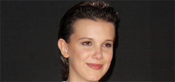 Millie Bobby Brown won Best Actor in a Show at the MTV Movie & TV Awards