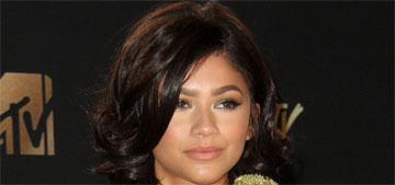 Zendaya in Zuhair Murad at the MTV Awards: too fussy or lovely?