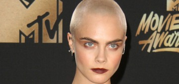 Cara Delevingne in Saint Laurent at the MTV Awards: amazing or meh?