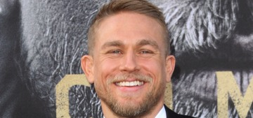 Charlie Hunnam doesn't do big gifts or 'giant, outlandish romantic gestures'