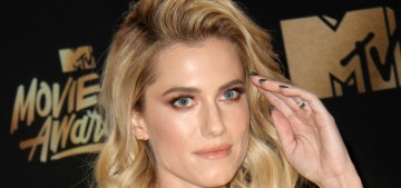 Was Allison Williams actually kind of racist during her bit on the MTV Awards?