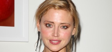 Estella Warren was arrested for domestic violence, assault by cleaning fluid