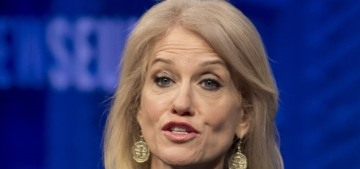 Kellyanne Conway was released from the White House basement last night