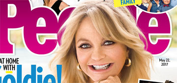 Goldie Hawn: 'Monogamy is tough' but 'would you want a man who doesn't look?'