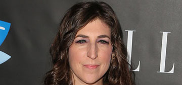 Mayim Bialik: 'some women love to show off their cellulite and stretch marks'