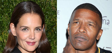 Katie Holmes & Jamie Foxx were together in Paris, are they ready to go public?