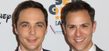 Jim Parsons married his longtime partner over the weekend