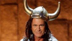Mel Gibson makes a ranting speech at church