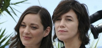 Marion Cotillard in Y/Project at the Cannes Film Festival: lovely or tired?