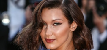 Bella Hadid in Alexandre Vauthier at Cannes: stunning & old Hollywood?