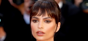 Emily Ratajkowski in Twinset & massive jewels in Cannes: lovely or tacky?