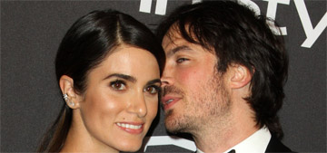Ian Somerhalder says Nikki Reed weaved their lives into the 'most magical blanket'