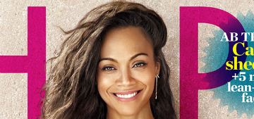 Zoe Saldana: 'I don't believe in diets. I try not to deprive my body of anything'