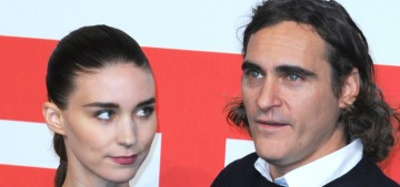 Star: Joaquin Phoenix & Rooney Mara live together but he's probably cheating