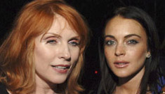 Lindsay Lohan attends two parties in one night