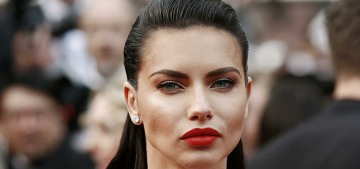 Adriana Lima wore a Naeem Khan wedding gown in Cannes: tacky or fine?