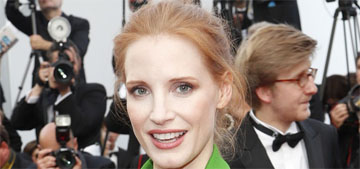 Jessica Chastain in tasseled Givenchy at Cannes: lovely or too fussy?