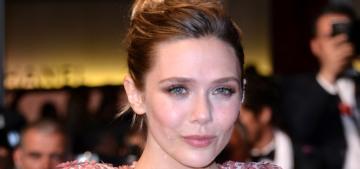 Elizabeth Olsen in Miu Miu at Cannes 'Wind River' premiere: stunning & glam?