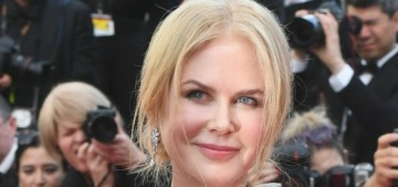 Nicole Kidman in Rodarte at the Cannes Film Festival: struggling or lovely?