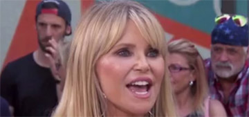 Christie Brinkley uses filler to fix 'a line I don't like, not to look different'
