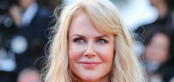 Nicole Kidman in Armani at Cannes anniversary event: stunning or basic?