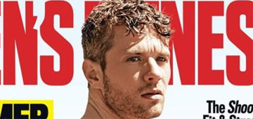 Ryan Phillippe shows off his abs on the cover of Men's Fitness
