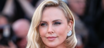 Charlize Theron in Dior at Cannes anniversary event: lovely or boring?