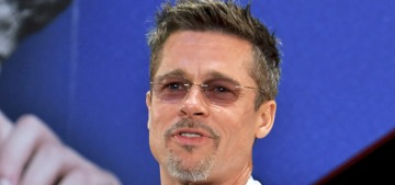 Star: Brad Pitt is determined to remove all of his Angelina-related tattoos