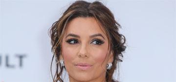 Eva Longoria in Elie Saab at Cannes amfAR gala: striking or too busy?